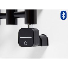 ТЭН для полотенцесушителя HeatQ NEX Bluetooth, черный, скрытый монтаж