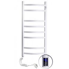 Электрический белый NAVIN Камелия 360х800 терморегулятор, таймер