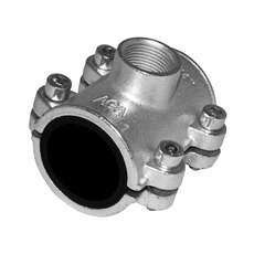 Ремонтно-монтажная обойма c отводом и внутренней резьбой AGAflex тип OBD