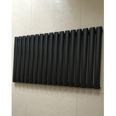 Горизонтальный радиатор отопления Rimini 17/550 чёрный