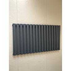 Горизонтальный радиатор отопления Rimini 17/550 серый