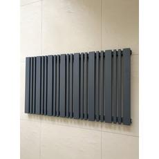 Горизонтальный радиатор отопления Lucca 13/550 серый