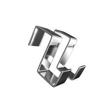 Крючок навесной 20х45 (профильный), 2 штуки