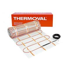Нагревательный мат Thermoval двухжильный (теплый пол) 10,0 м.кв. 1700 Вт