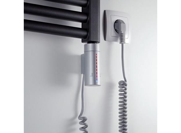 ТЭН для полотенцесушителя Instal Projekt HOT2, серый металлик