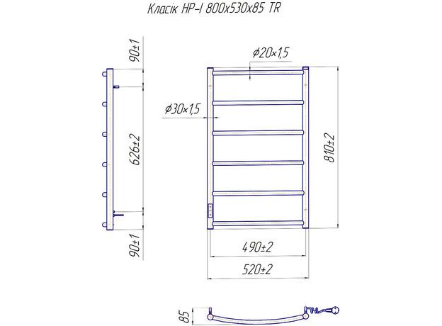 Электрический Mario Классик НР-ITR 800x530, регулятор и таймер
