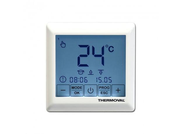 Терморегулятор программируемый, сенсорный Thermoval SE 200