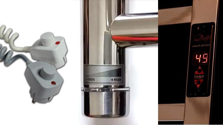 Регулятор температуры/мощности в электрическом полотенцесушителе